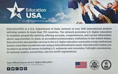 """Для студентів університету було проведено семінар """"Твої 5 кроків до навчання у США"""""""