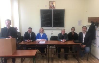 """Студенти взяли участь у круглому столі """"Значення вищої освіти в розбудові Української соборної держави"""""""