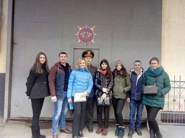 Студенти 4-го курсу юридичного факультету відвідали державну установу «Львівська установа виконання покарань (19)»