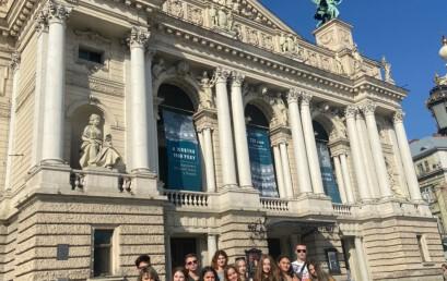 Студенти університету взяли участь у екскурсії «Люди і архітектура Львова» приуроченій всесвітньому дню туризму